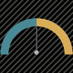 analytics, business, infographics, kpi, pie, scape, sensor icon