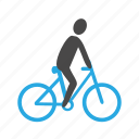 active, activity, bicycle, biker, cycle, cycling, sport, transport icon