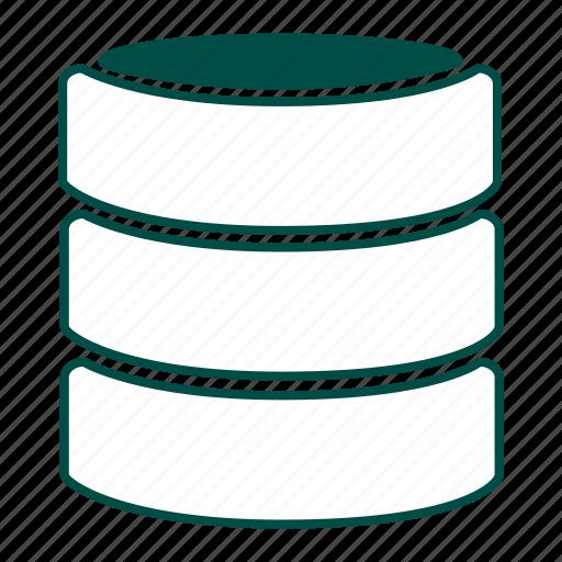 data, data store, data warehouse, database, information, repository, storage icon