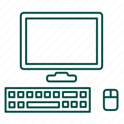 calculating not a client-side, computer, hardware, monitor, pc, screen, thin client icon
