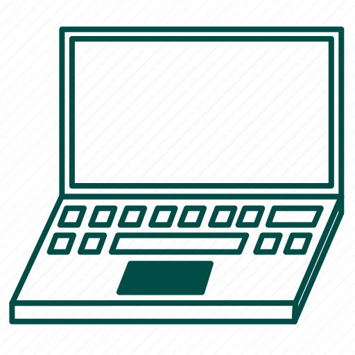 computer, laptop, macbook, notebook, pc, portable computer icon