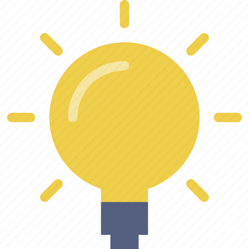 bulb, creativity, electricity, idea, innovation, lightbulb, power icon