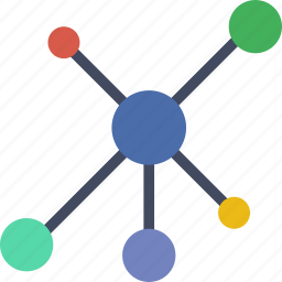 cloud, computing, database, network, storage icon