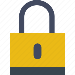 lock, locked, privacy, protect, safety, security, shield icon