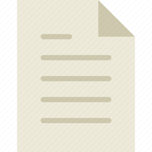 document, documents, file, paper, sheet icon
