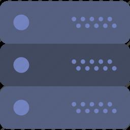 cloud, computing, database, hosting, internet, server icon