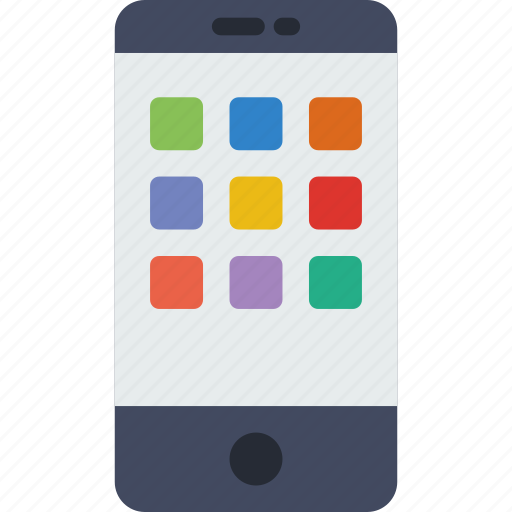 cellphone, iphone, mobile, phone, screen, smartphone icon