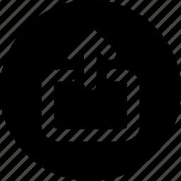 upload, uploading icon