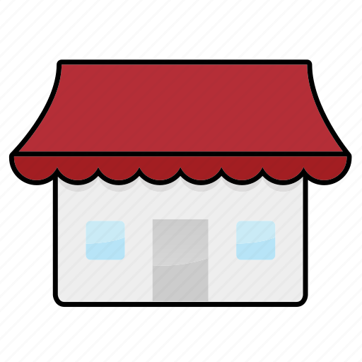 home, hut, shop, workplace icon