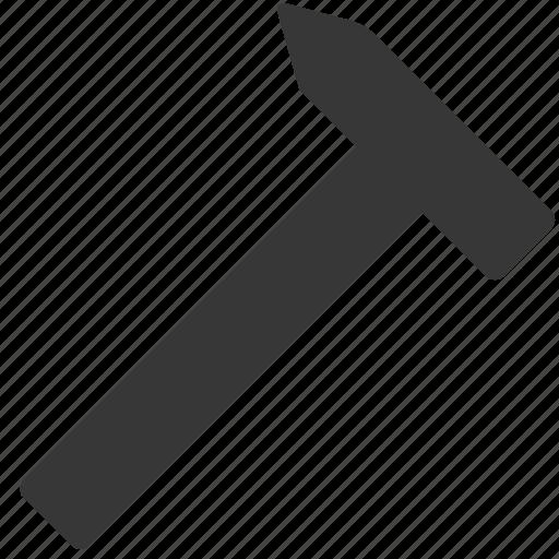 hammer, repair, tool icon