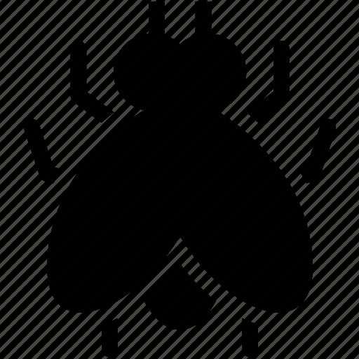 bug, dirty, disease, flies, fly, pest, virus icon