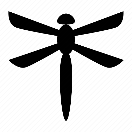 bug, dragonfly, fly, insect icon