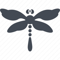 dragonfly, insect, insects, wings icon