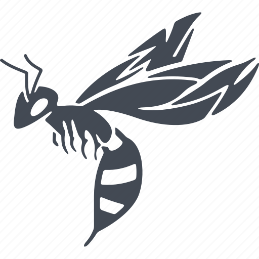 insect, insects, sting, wasp, wings icon