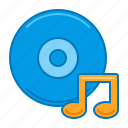 album, cd, disc, dvd, music icon