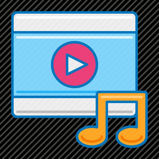 Music Music Video Mv Video Icon