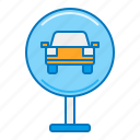 car park, carpark, parking, parking slot icon