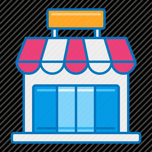 bodega, market, shop, store, storefront icon