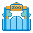 animal, park, wildlife, zoo, zoological icon