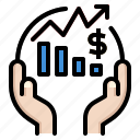 bussiness, cash, finance, money, sme icon