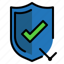 protect, security, shield, time icon