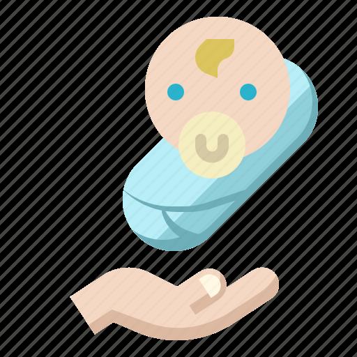 Baby, health, hospital, insurance, pregnant icon