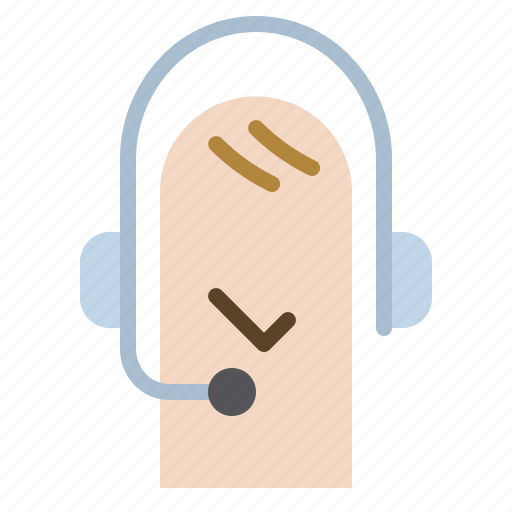 Call, center, headset, line, phone, service icon - Download on Iconfinder
