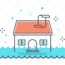 disaster, flood, home, house, insurance, protection, water