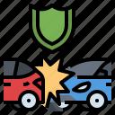 accident, car, crash, damage, insurance