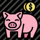 finance, insurance, money, piggy, save