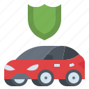 auto, car, insurance, protect, safety icon