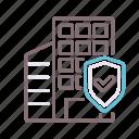 building, insurance, condo icon