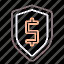 finite, insurance, risk icon