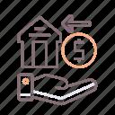 guarantee, insurance, rent icon