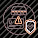 credit, insurance, trade icon