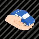 hand, holds, isometric, machine, mechanic, wheel