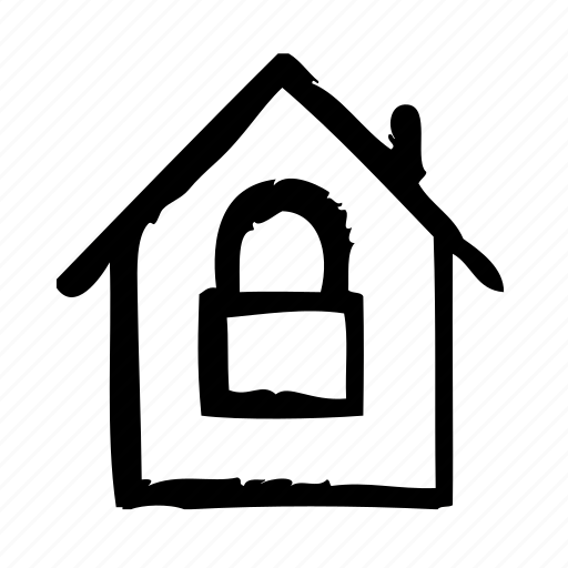 guarantee, house, insurance, lock, promise, protection icon