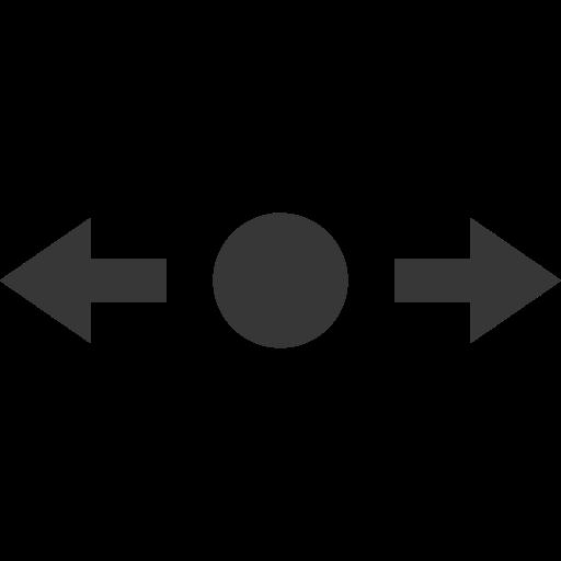 arrow, point icon