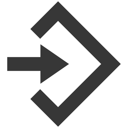 arrow, command, program icon