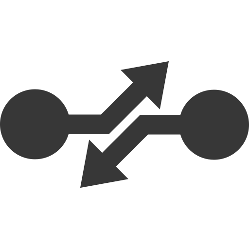 arrow, breaking, cirquit, disconnection, tripping icon