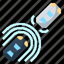 active, control, cruise, limit, radar, sensor icon