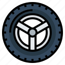 car, drive, tire, transportation, wheel icon
