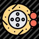 brake, car, disc, repair, vehicle icon