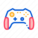 gamepad, games, interactive, kids, video icon