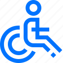 accessible, human, interface, person icon