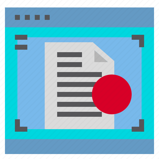 Document, interface, computer, screen icon - Download on Iconfinder