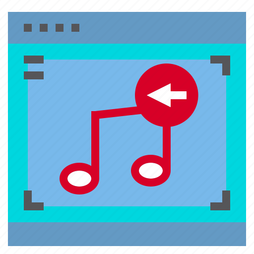 Interface, left, music, computer icon - Download on Iconfinder