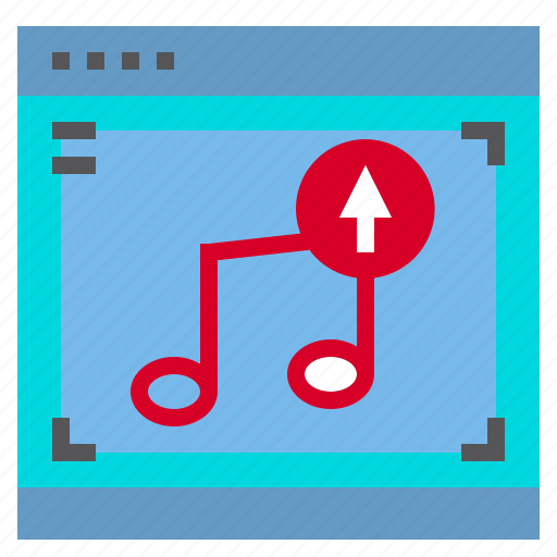 Interface, music, up, computer icon - Download on Iconfinder