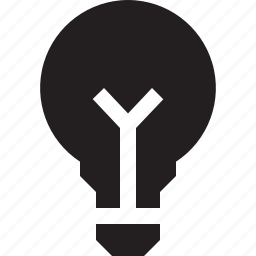 bulb, idea, important, interface, light icon