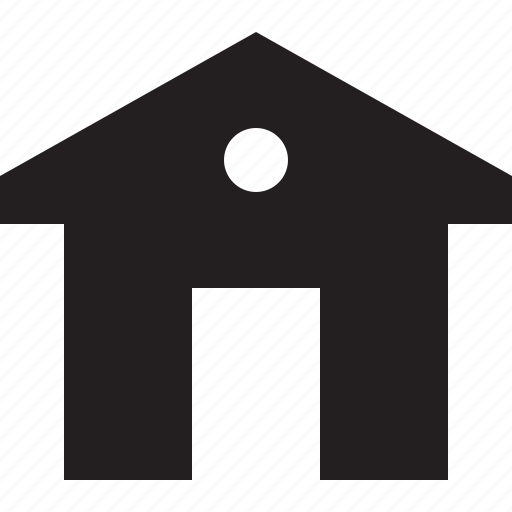 building, home, house, interface, web icon